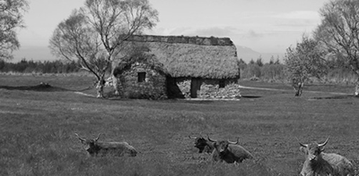 An old Croft near Culloden