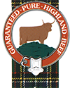 Guaranteed Highland Beef Logo